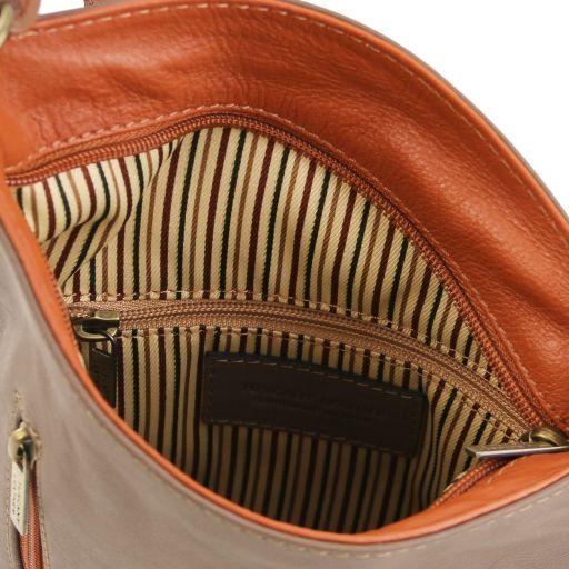 TL Bag Tracollina unisex in pelle Rosso Lipstick TL141111