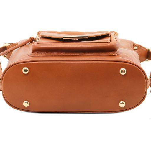 TL Bag Sac en cuir convertible en sac à dos Noir TL141535