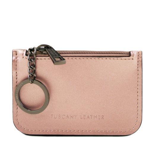 Portachiavi in pelle Rosa TL141677