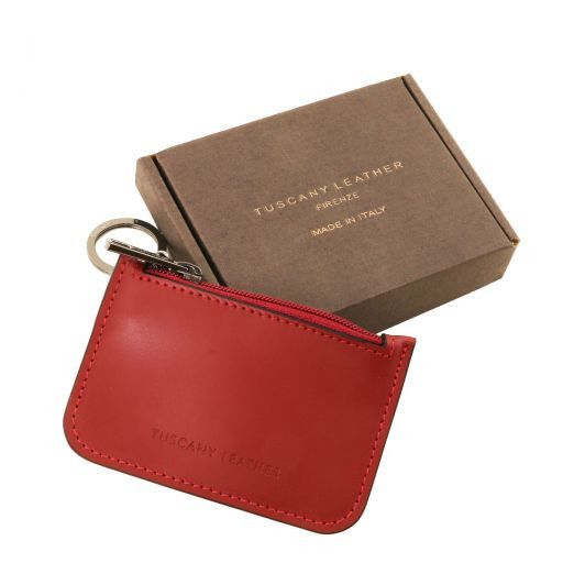 Leather key holder Brandy TL141671