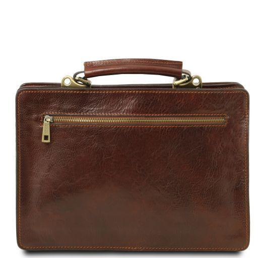 Tania Damenhandtasche aus Leder - Gross Braun TL141269