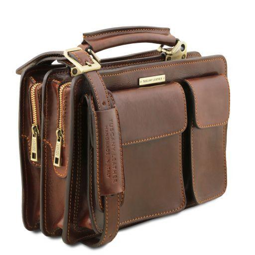 Tania Damenhandtasche aus Leder Rot TL141270