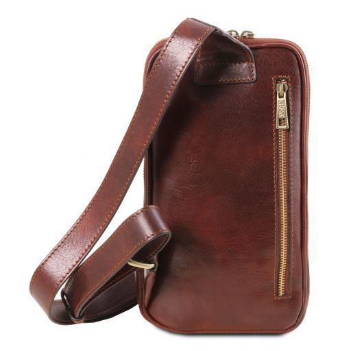 Martin Leather crossover bag Коричневый TL141536