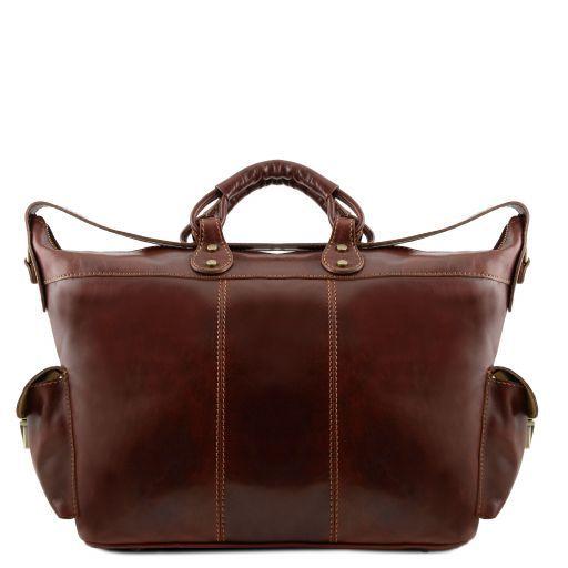 Porto Travel leather weekender bag Brown TL140938