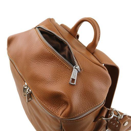 TL Bag Zaino donna in pelle morbida Nero TL141747