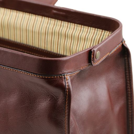 Raffaello Doctor leather bag Black TL141852