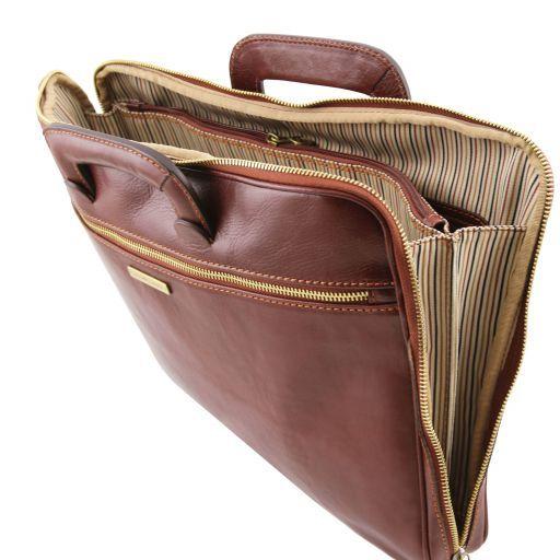 Caserta Cartella portadocumenti in pelle Nero TL141324
