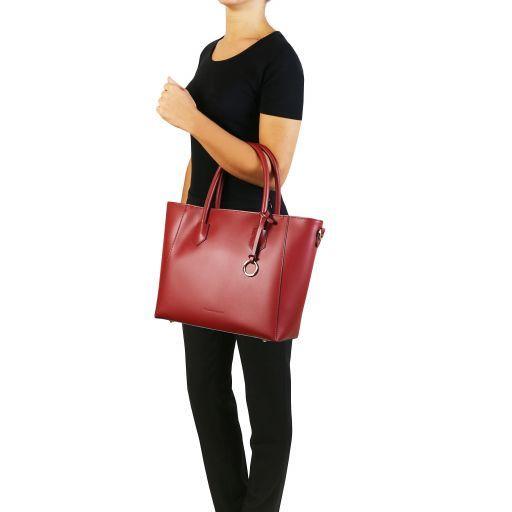 Aria Leather tote Cognac TL141823