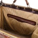 Madrid Gladstone Leather Bag - Small size Brown TL1023