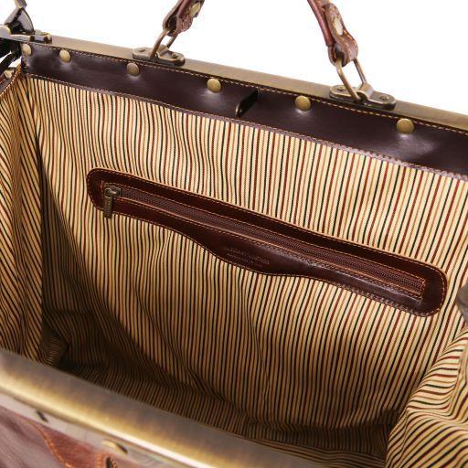 Madrid Кожаная сумка Gladstone - Маленький размер Красный TL1023