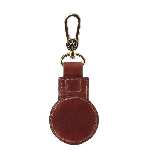 Leather key holder Brown TL141922