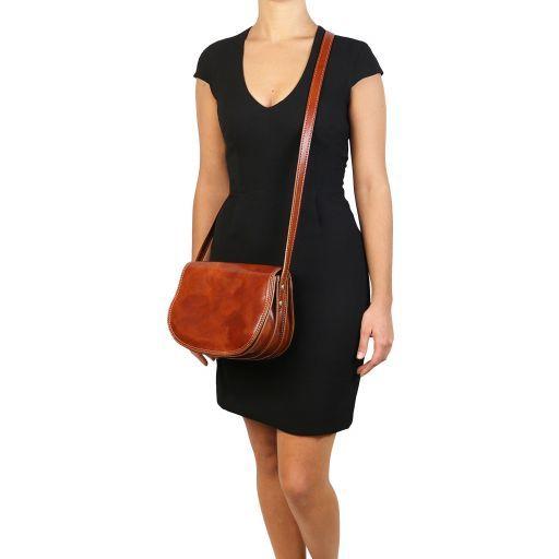 Isabella Lady leather bag Honey TL9031