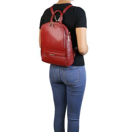TL Bag Mochila para mujer en piel suave Negro TL141376