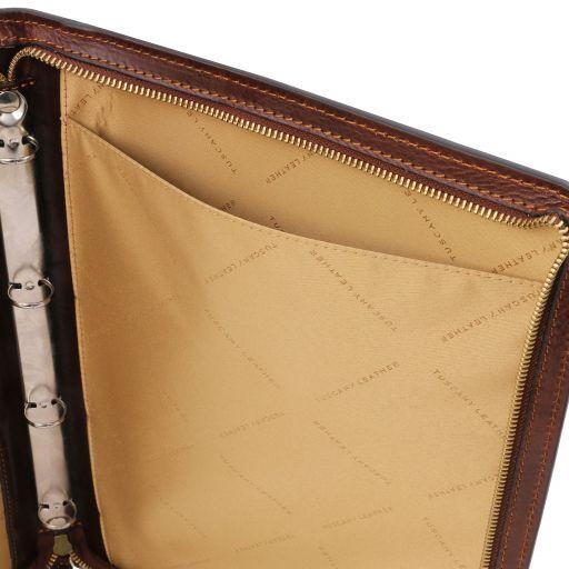 Costanzo Exclusif conférencier en cuir Marron TL141295