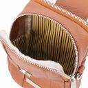 TL Bag Mini Schulter-Handytasche aus weichem Leder Bordeaux TL141698