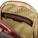 Perth 2 Compartments leather backpack Brown TL142049