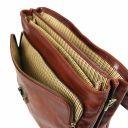 Alessandria Cartella Porta notebook TL SMART multiscomparto in pelle Miele TL142067
