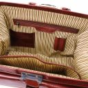 Giotto Exklusive Arzttasche mit Doppel-Boden Braun TL142071