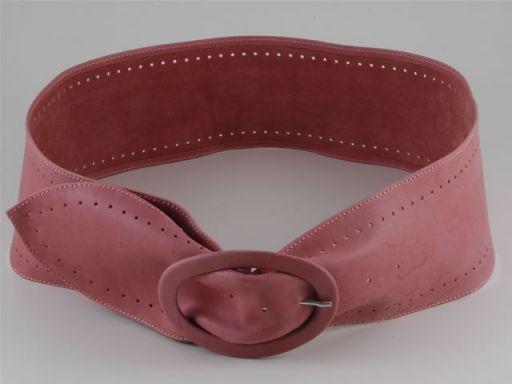 Esclusiva cintura in pelle Rosa TL140594