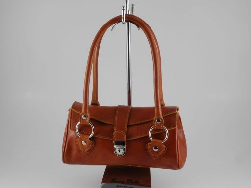 Katy Leather bag Мед TL140603