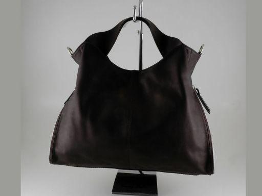 Aurora Lady leather bag Black TL140633