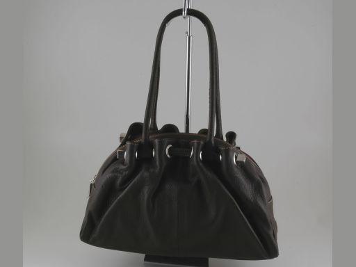 Raffaella Handtasche aus Leder Dunkelbraun TL140636