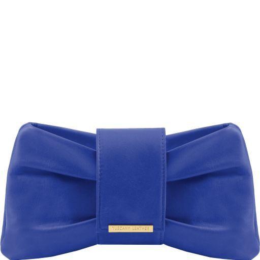 Priscilla Pochette in pelle Blu TL140716