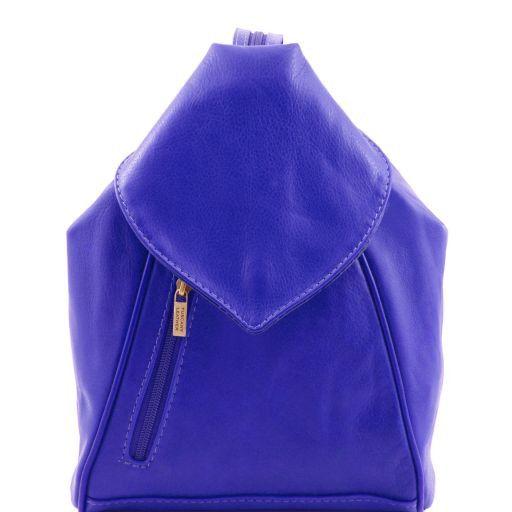 Delhi Leather backpack Blue TL141623