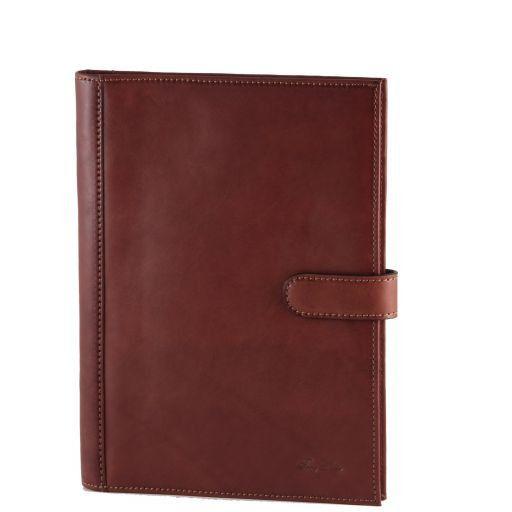 Cesare Leather - Document case Коричневый TL140683