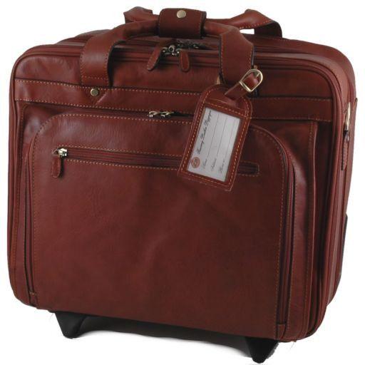 Caracas Elegante maleta con ruedas Marrón FC140684