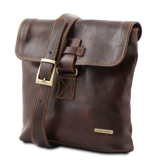 Andrea Кожаная сумка через плечо Черный TL9087