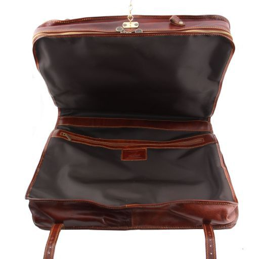 Bali Porta abiti in pelle Marrone TL30179
