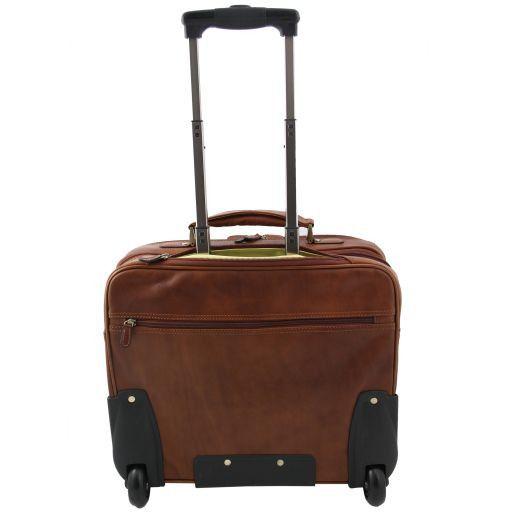 New York Esclusivo trolley da viaggio Marrone FC140207