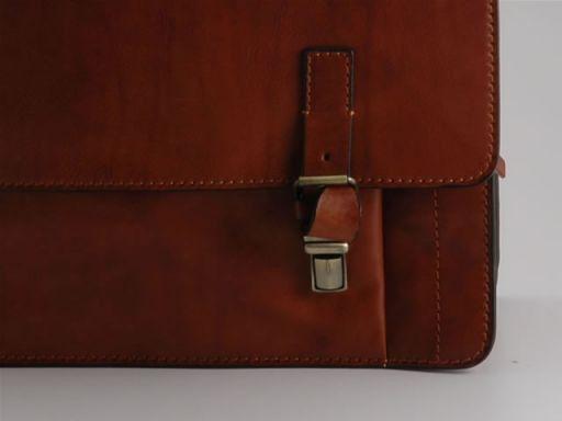 Portovenere Esclusiva cartella in pelle Marrone FC140243