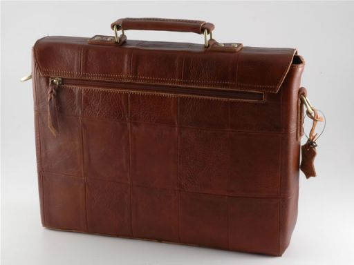 Padova Leather Briefcase Коричневый TL100275