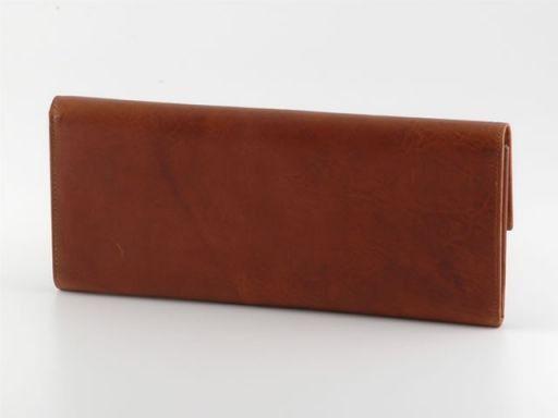 Esclusivo portadocumenti di viaggio in pelle Marrone TL140285
