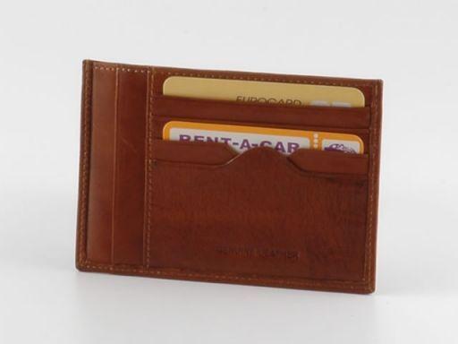 Esclusivo portafoglio in pelle Marrone TL140286
