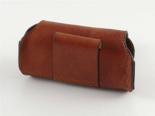 Leather cellphone holder Коричневый TL140324