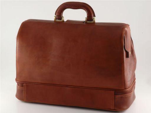Tintoretto Doktortasche aus Leder Braun TL140328