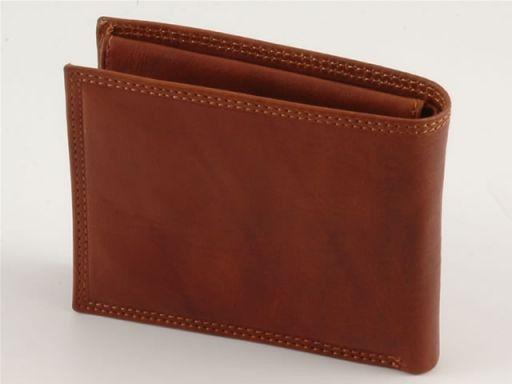 Esclusivo portafoglio in pelle uomo Rosso TL140426