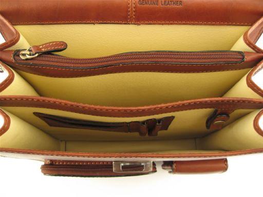 Valentino Esclusiva borsa tracolla in pelle Marrone FC140431