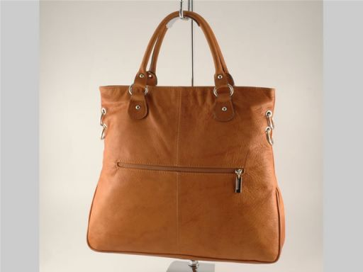 Camilla Borsa Shopping Grande in pelle Bianco TL140491