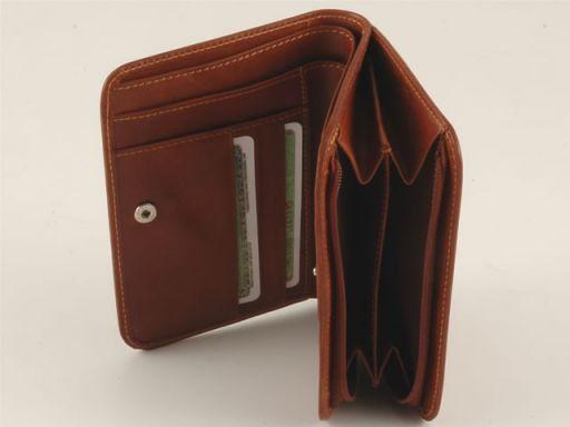 Esclusivo portafogli in pelle Nero TL140507