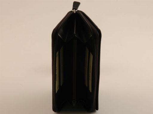Esclusivo portafogli da donna in pelle Marrone TL140624