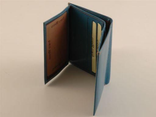 Esclusivo portafogli da uomo in pelle Arancio TL140627