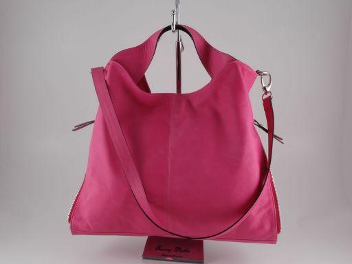 Aurora Bolso en piel para mujer Rojo TL140633