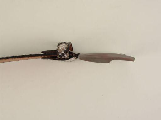 Esclusiva cintura in vero pitone Rosa TL140678