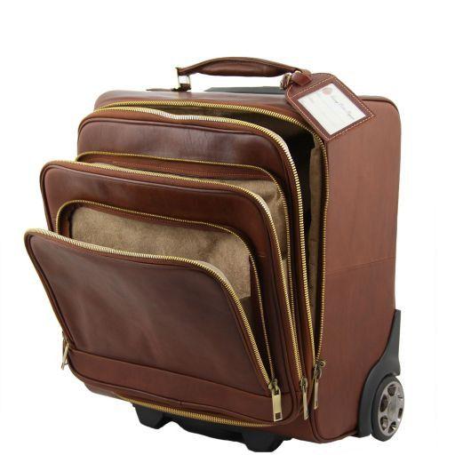 Chicago Esclusivo trolley da viaggio Marrone FC140707