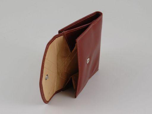 Esclusivo portafogli in pelle da donna Marrone TL140780