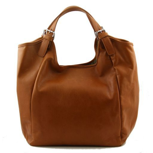 Gina Borsa shopping donna in pelle Rosso TL140886